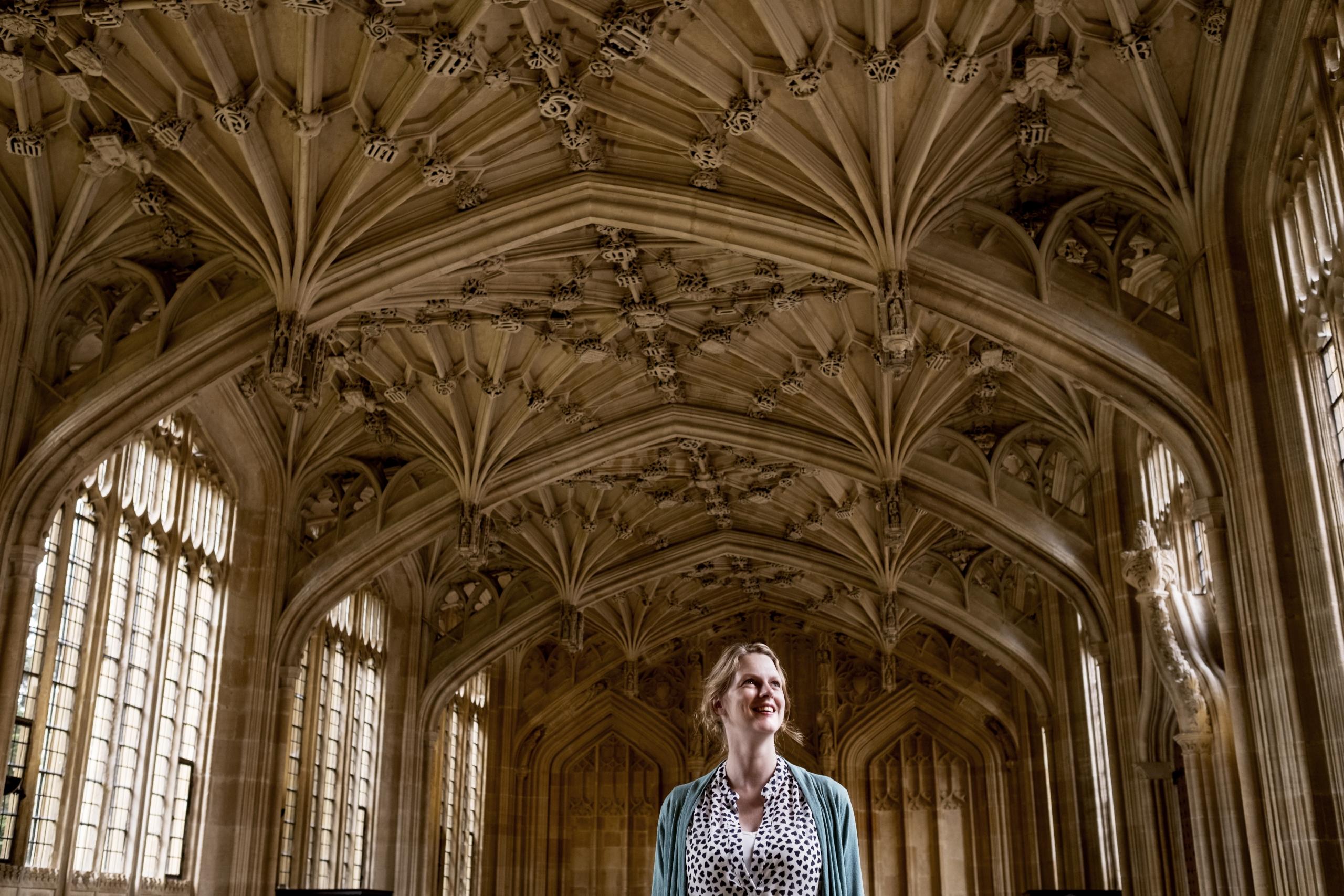 Inge Volman in Oxford